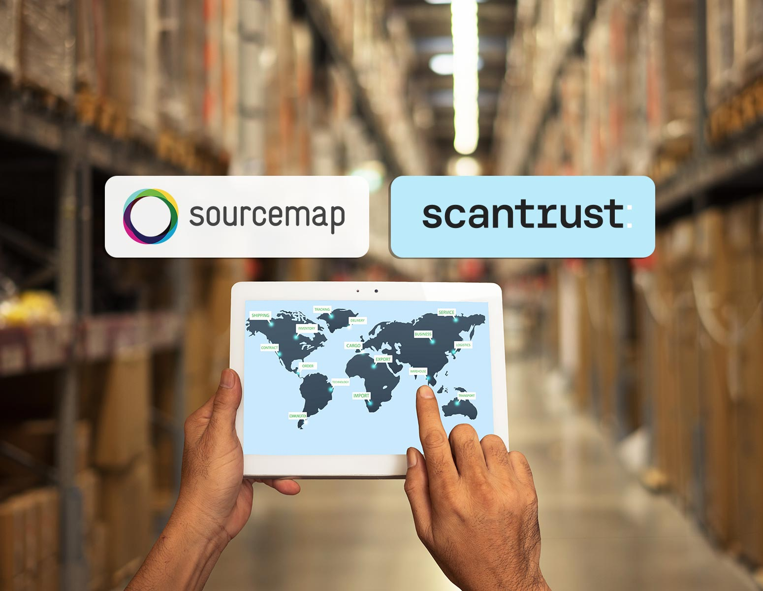 Sourcemap and Scantrust collaborate on digitalization